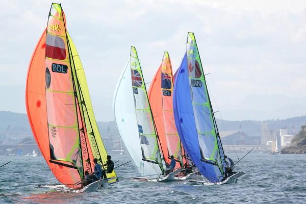 ISAF Sailing World Cup 2014 Popa-49er © AGENCIA INTERACTIVA BALEAR