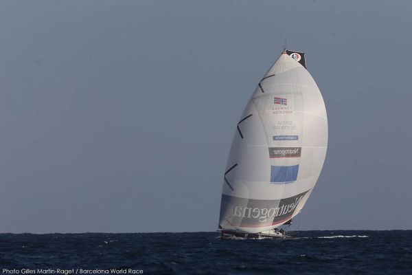 Barcelona World Race 2014/2015 - Neutrogena © Gilles Martin-Raget 01