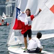 Toronto 2015, Medal Race del #teamChile de Vela